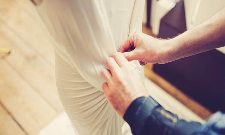 How Much Are Wedding Dress Alterations?