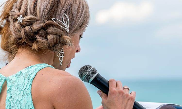 How To End A Maid Of Honor Speech With A Heart