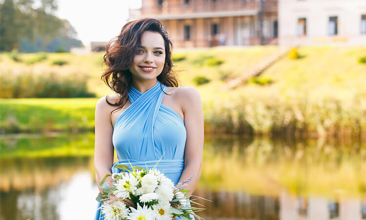 How To Re-Wear A Long Bridesmaid Dress